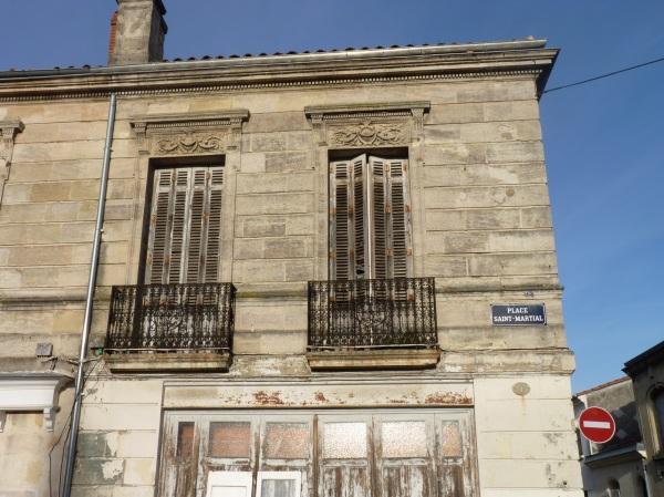 Immeuble abandonné