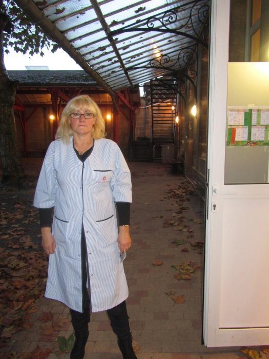 Madame Comeres, 31 ans au service de l'école Jacques Prévert