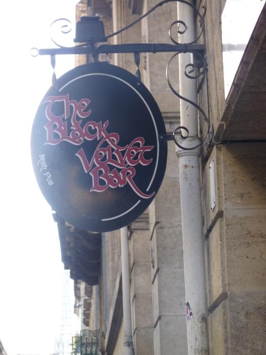 Le Black Velvet, (vrai) pub irlandais