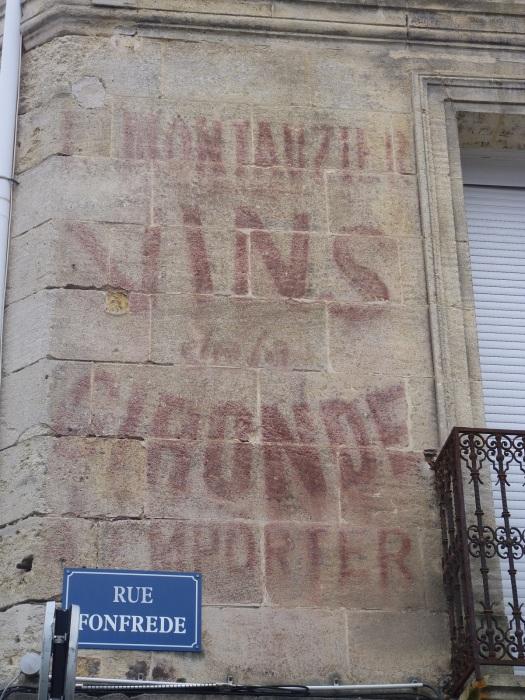 Vestige des vins Montauzier