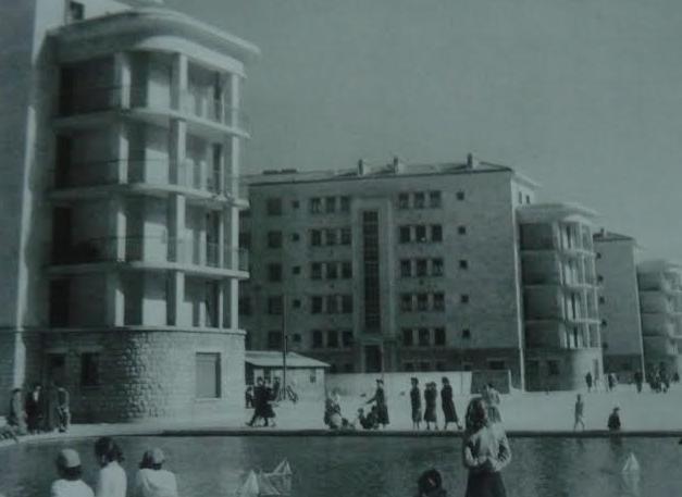 La Benauge en 1950 (source : Bordeaux, la conquête de la modernité - Robert Coustet et Marc Saboya)