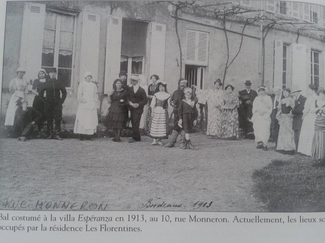 La Ville Esperanza, aujourd'hui disparue (source : Mémoire de Caudéran)