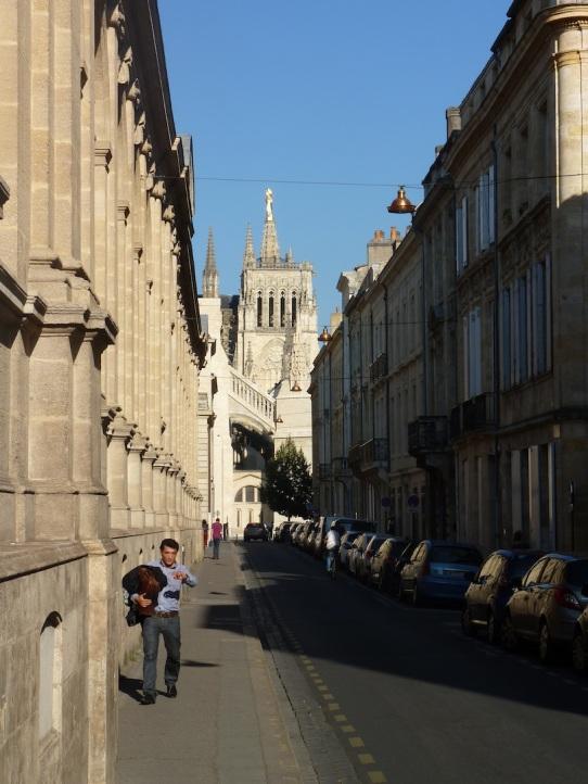 Vue générale de la rue Elisée Reclus.