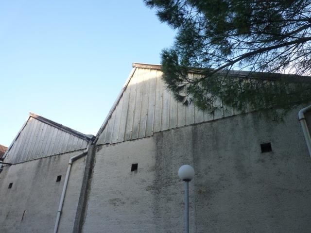 L'ancienne usine Petit vue depuis l'arrière de la rue de Blaye