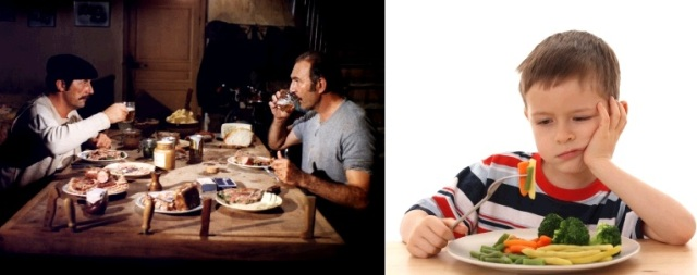 Notre repas fantasmé / Notre repas ressenti