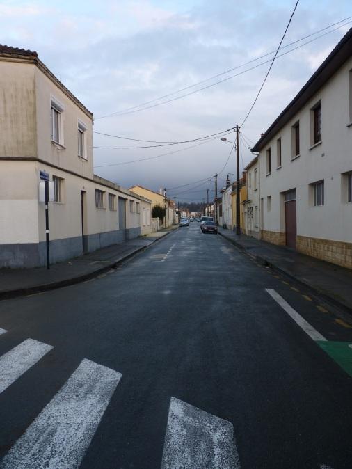 Vue générale de la rue François Chambrelent