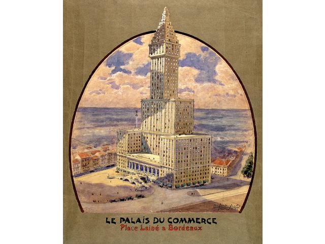 La Place Lainé imaginée par Cyprien Alfred-Duprat