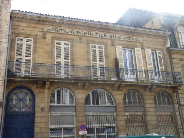 Le siège de la disparue maison Pépin
