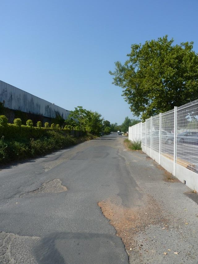Perspective générale de la rue D'Artagnan